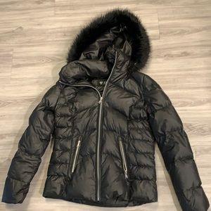 Guess black down jacket
